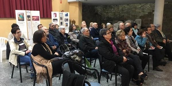 Imatge de la xerrada a Cal Borres (Biosca)